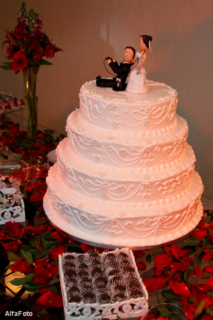 Festa de casamento da Mayra e do Michel.