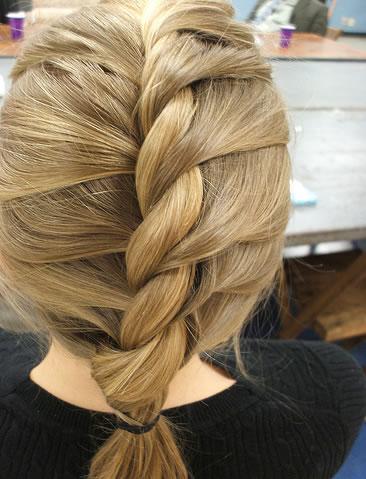 fotos de tranças de cabelo