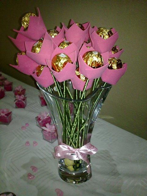 Lembrancinha de casamento DIY: tulipa de chocolate | Planejando Meu