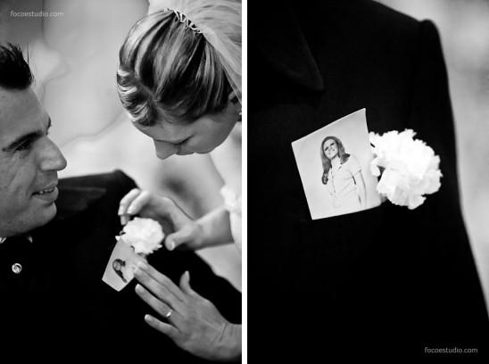 Homenagem de noivo a mãe falecida - Foco Estúdio