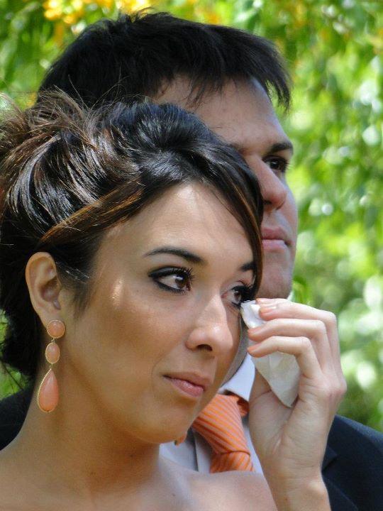 Maquiagem de madrinha de casamento diurno.