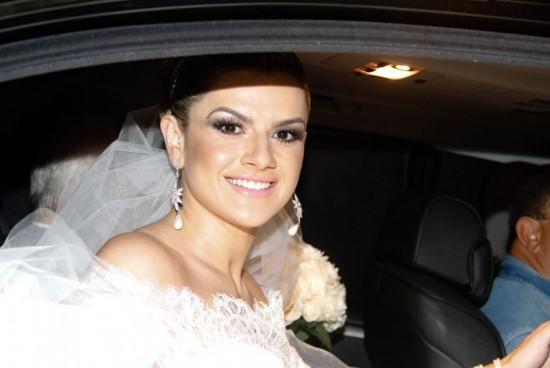 Chegada da noiva. Casamento Mirella Santos e Ceará do Pânico.