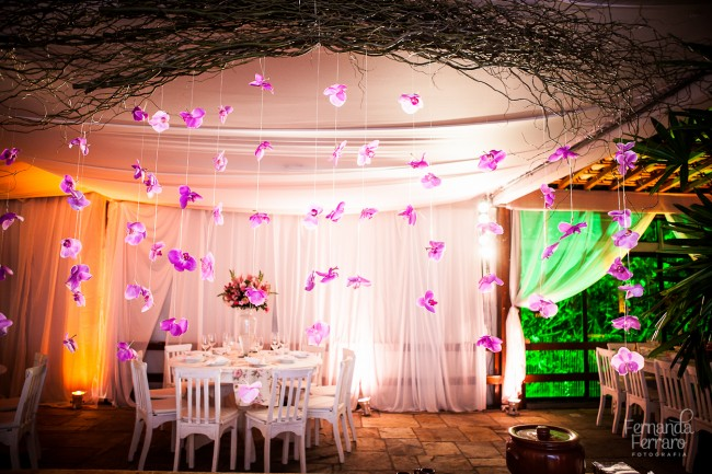 decoracao de casamento que eu posso fazer: de orquídeas na decoração do casamento