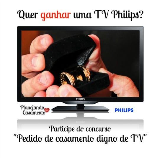 Concurso: pedido de casamento digno de TV.