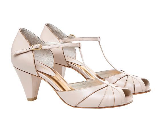 Sapatos de noiva vintage 1
