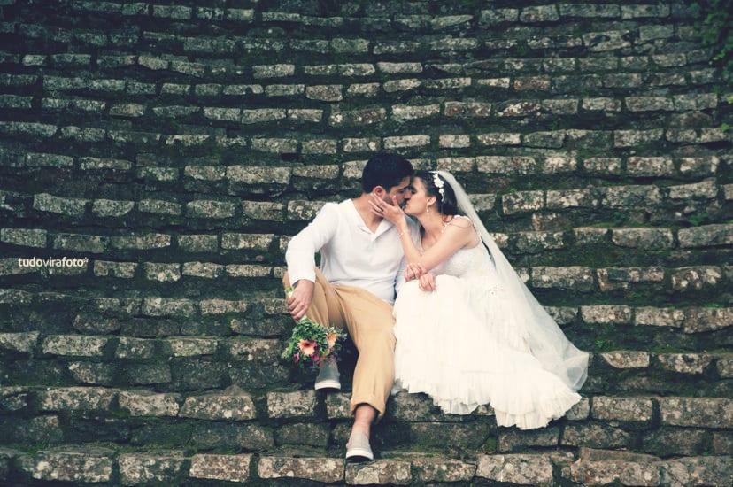 Casamento no Jardim Botânico de São Paulo. Foto: Tudo Vira Foto.