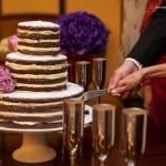 Naked cake: bolo de casamento rústico. Foto: Daniel Siqueira.