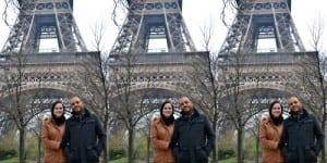 Lua de mel em Paris. Foto: Cíntia Costa/ Planejando Meu Casamento.