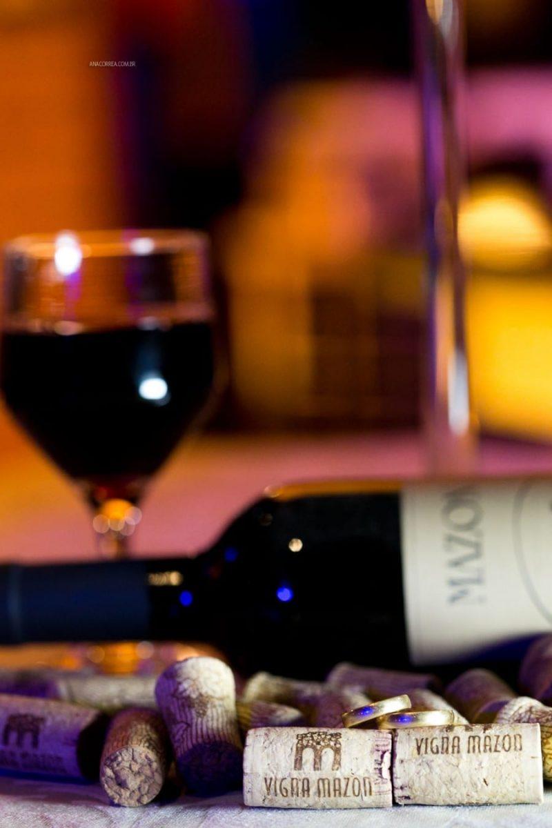 Casamento na vinícola Vigna Mazo: vinhos de qualidade para a festa. Foto: Ana Correa.