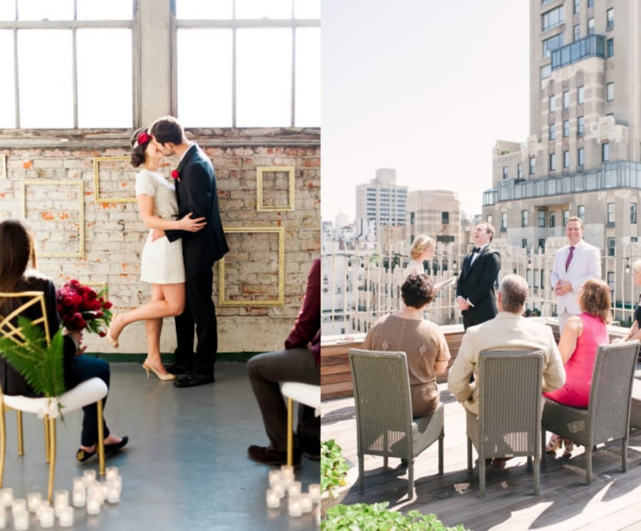 Casamento: mini weddings. Foto: Brittany Lauren Photography and Brklyn View Photography.