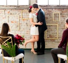 Mini wedding ao estilo elopement. Foto: Brittany Lauren Photography.