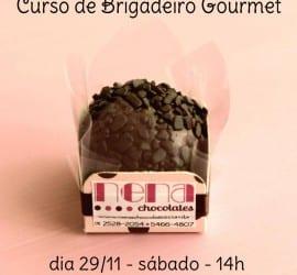 Brigadeiro gourmet.
