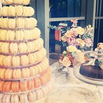 Macarons franceses para casamento da Paradis.