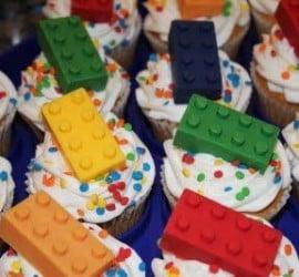 Cupcakes de Lego.