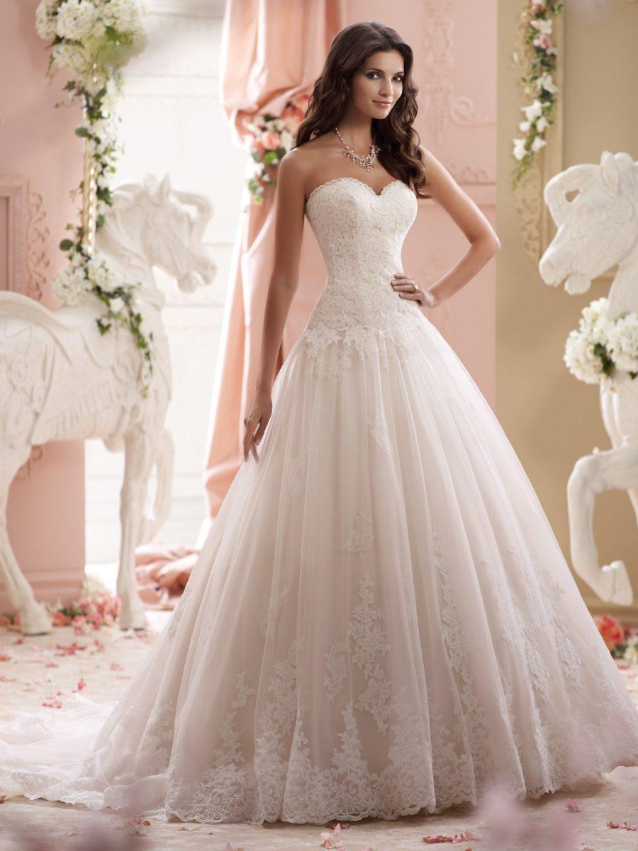 Vestidos De Noiva Tomara Que Caia Corte Princesa