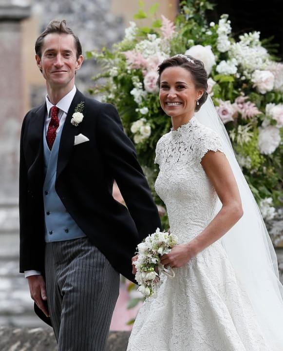 Casamento de Pippa Middleton e James Matthews.